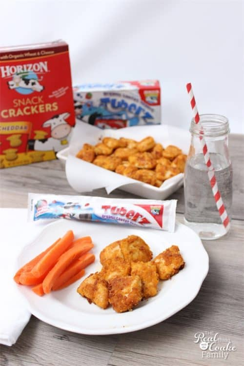 What's for dinner Mom? Words of dread... I can make these Homemade Chicken Nuggets that are a quick and easy dinner the whole family will eat and love! Perfect! Sponosred