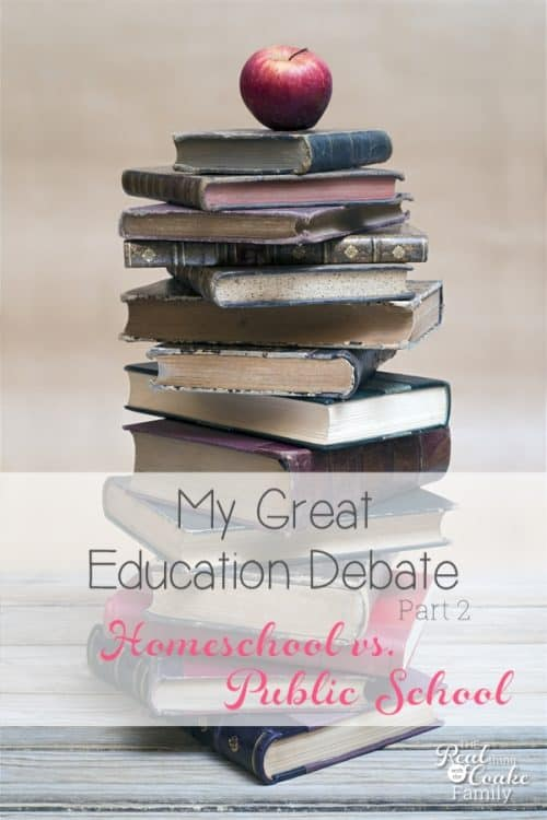 Keeping it Real and sharing the great education debate raging in my mind and what is best for my child between public school and homeschool.