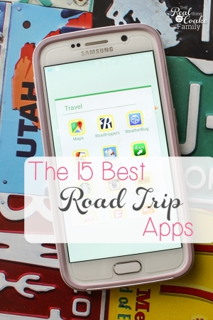 These are the 15 best apps to use for a successful road trip! I