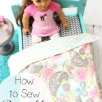 Sewing Reversible Sheets for Doll Bedding