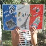 Bastille Day (or 4th of July) Craft ~ Real Summer of Fun