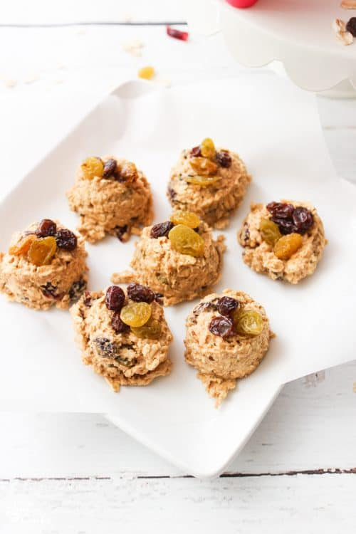 Oh my goodness! This is THE Starbucks Oatmeal Cookie Recipe. So yummy and easy. Love all the raisins. Includes a freezer adaptation. Just keep them in the freezer and have fresh cookies any night of the week.
