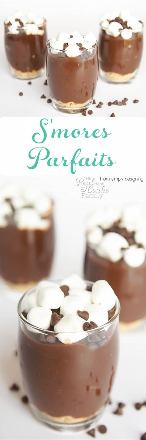 Oh my goodness! We need to make this Smores Parfait recipe. So yummy and so easy, too. Perfect dessert that the kids can make,.