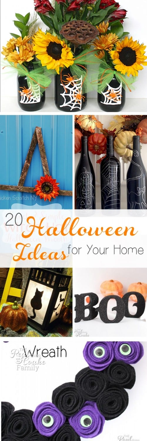 I love all of these Halloween crafts. So many cute ideas to DIY to add some Halloween decorations to my home decor.