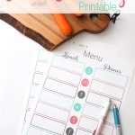 Weekly Meal Planning Made Easy with a Free Printable