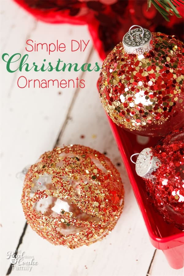 Homemade Ornaments ~ Fun Christmas Crafts for Kids (and ...