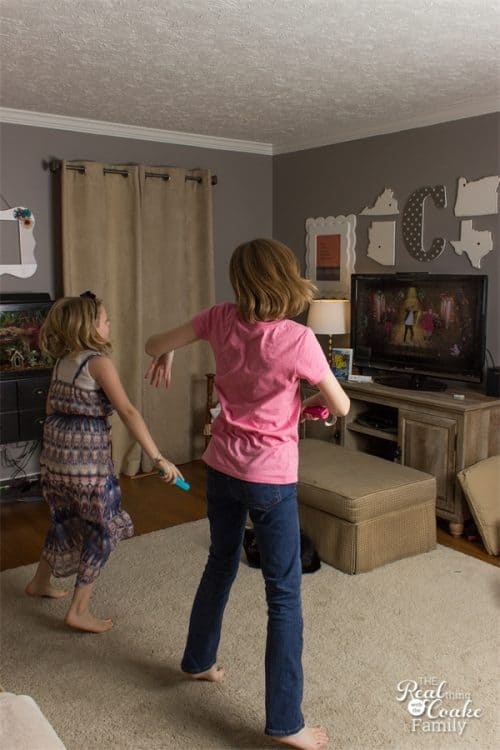 This is such a fun way to have family fun and be active during Thanksgiving and Christmas as well as the winter. Just Dance gets us moving and having fun together as a family. Perfect!