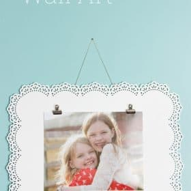 Simple Photo Frame DIY Wall Art