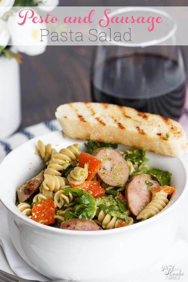 Pesto and Sausage Pasta Salad Recipe
