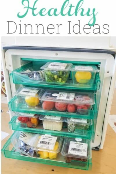 Love these Healthy Dinner Ideas! Great way to get and healthy and easy dinner for the family to the table in 30 minutes or less.