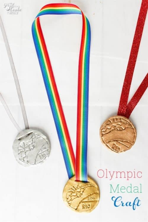 Fun Olympic Craft for Kids and Parents
