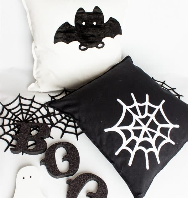Go Batty for Halloween Decorative Pillows
