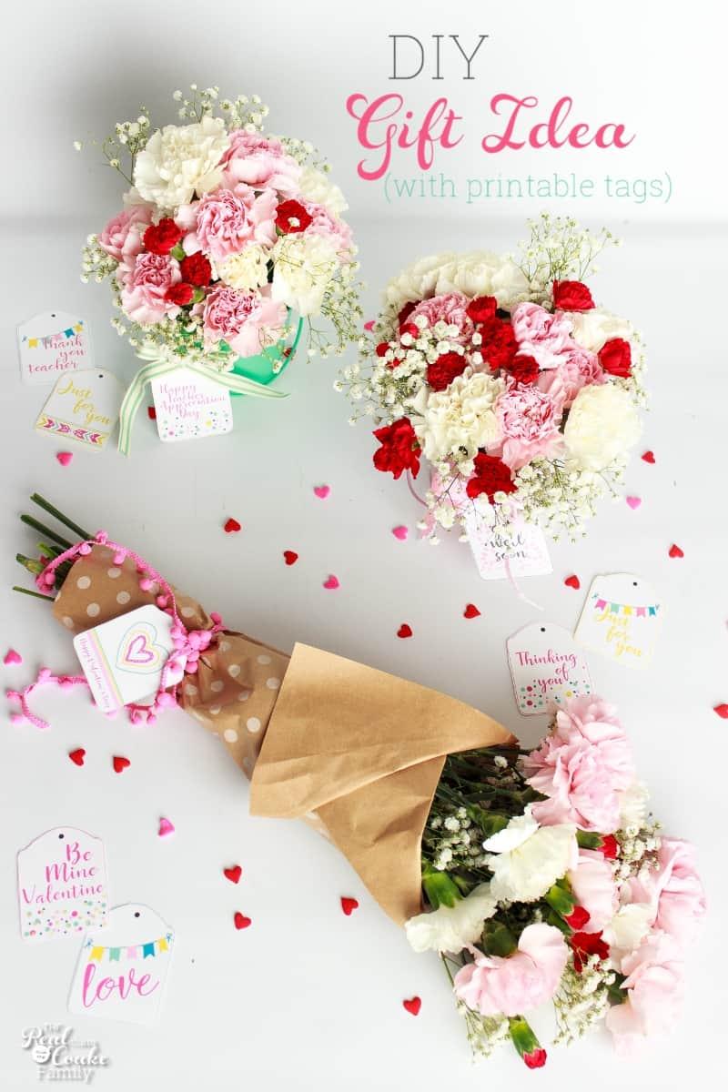 Beautiful DIY Gift Idea for Valentine's Day, Teacher ...