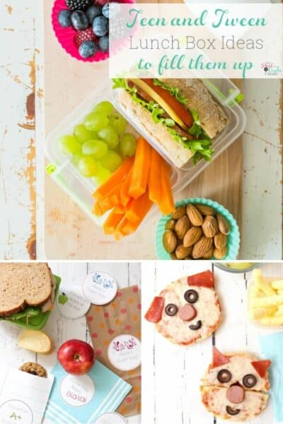 Love all of these school lunch ideas for teens and tween. Healthy and easy recipes to keep the bigger appetites full.