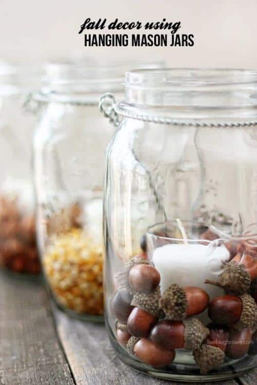 Such great fall decorations and ideas for decorating my home. I love that they are DIY Fall decor so I can have the fun of crafts and make them myself.
