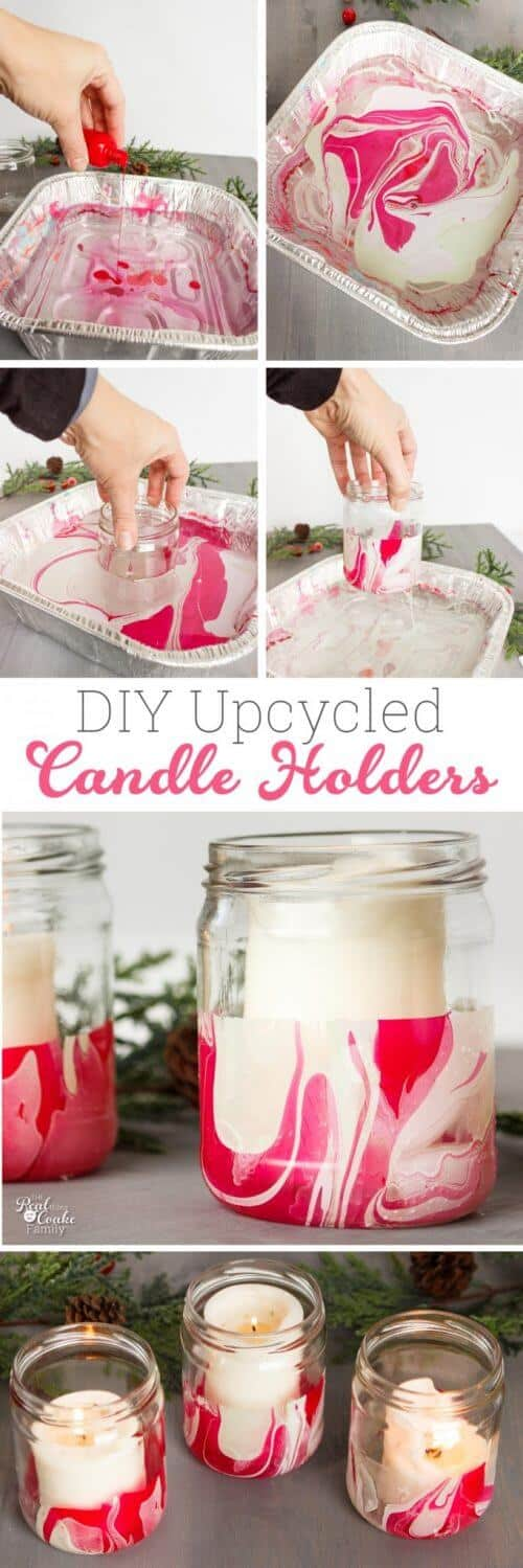 Such cute upcycled crafts! I find making these DIY Christmas home decor crafts so cheap, easy and fun! Great tutorial and ideas on how to make these DIY nail polish crafts for any time of the year.