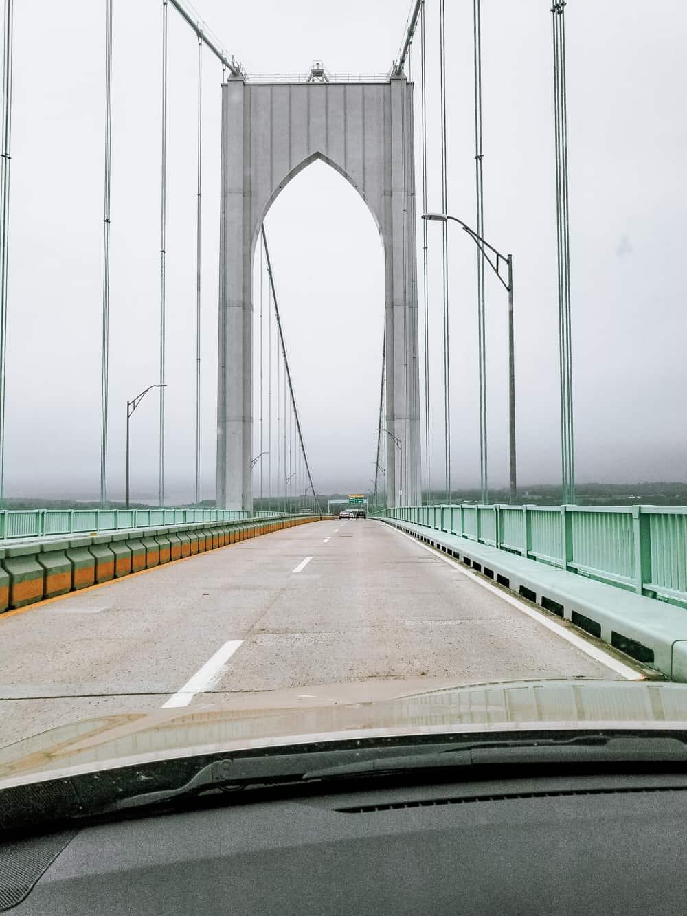 bridge near Newport Rhode Island