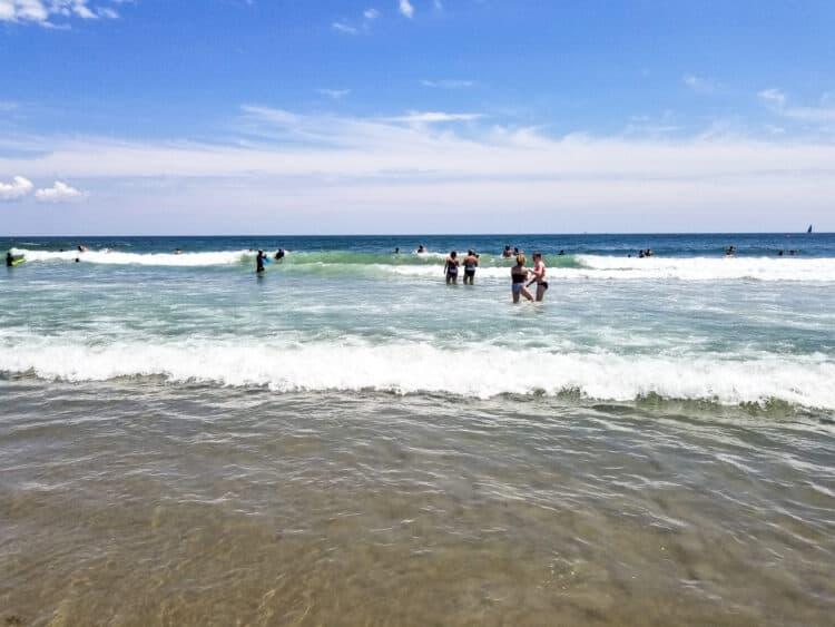 beach at Narragansett, Rhode Island