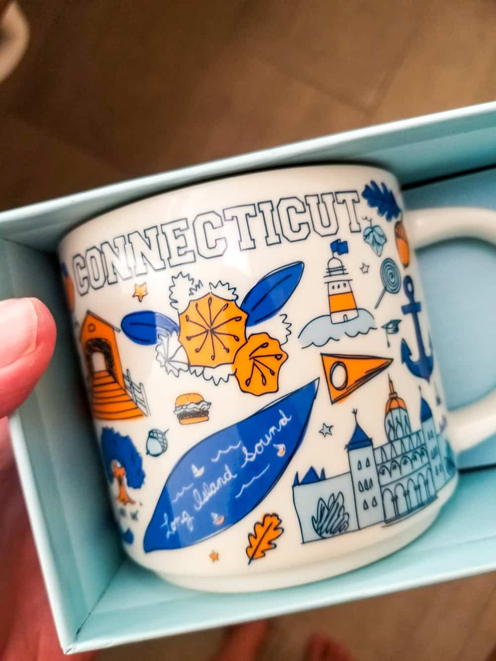 Connecticut Starbucks been there mug