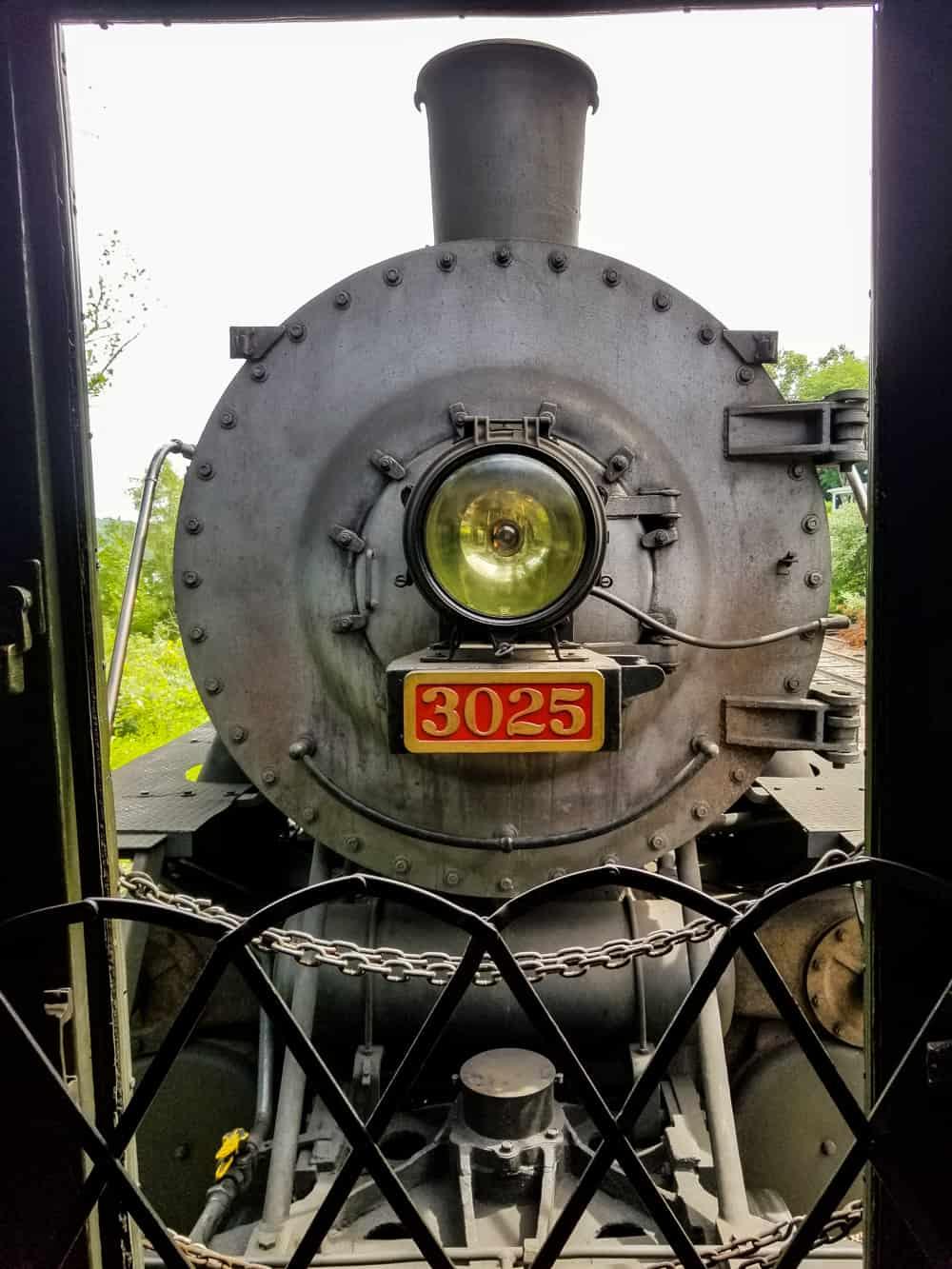 Essex steam train engine