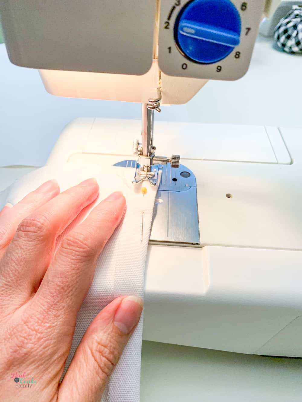 "sewing /12"" seam in fabric"