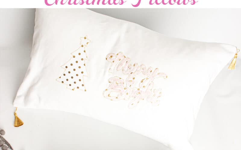 How to Make Beautiful DIY Christmas Pillows