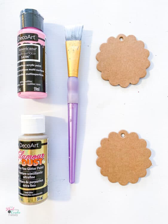 supplies needed to make stocking tags