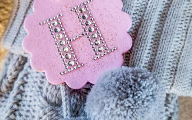 How to Make These Cute Personalized Stocking Tags