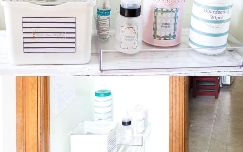 Sanitizing Station – How to Make This Inexpensive One For Your Home